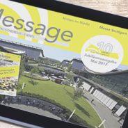 """Im Jahr 2017 feiert die Messe Stuttgart """"10 Jahre neues Messegelände"""""""