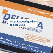 DEHOGA Magazin mit neuem Ansprechpartner