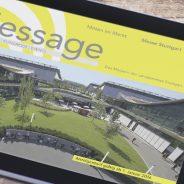 """Offizielles Messemagazin der Messe Stuttgart """"Message"""" immer beliebter"""